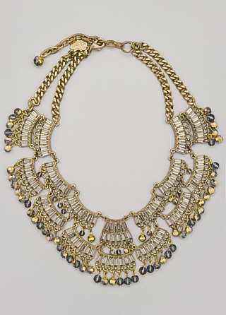Badgley Mishcka Decadent Deco Necklace