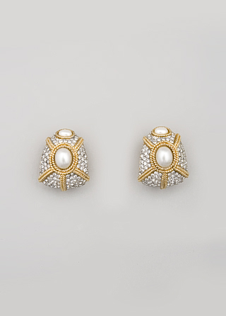 Ciner's Old Hollywood Glamour Earrings