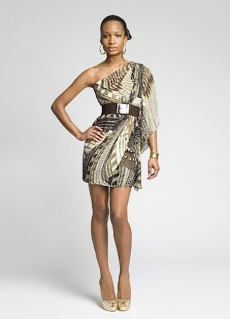 Mark & James Tribal Printed Dress