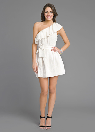 Rebecca Taylor Ready to Ruffle Dress
