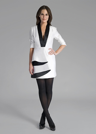 Thread Social Tuxedo Bell Dress