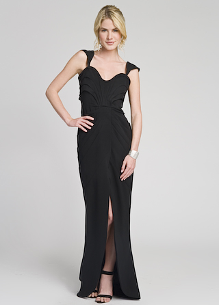 Brian Reyes Striking Sophisticated Gown