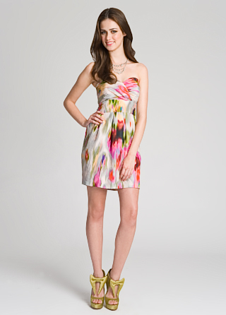 Mark &amp; James Starburst Strapless Dress