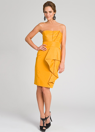 Lela Rose Couture Wave Dress