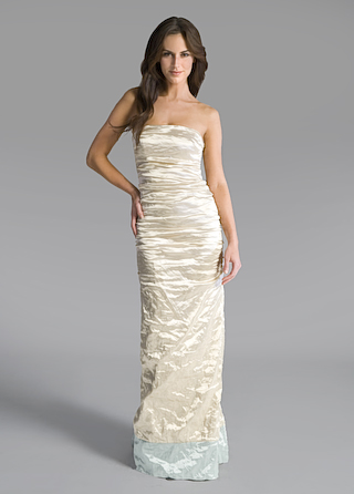 Nicole Miller Mermaid Gown