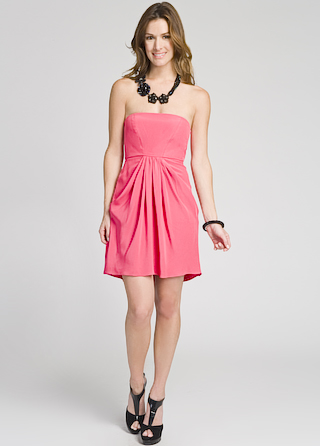 Tibi Lipstick Summer Dress