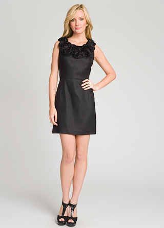 Milly Ruffle Collared Dress