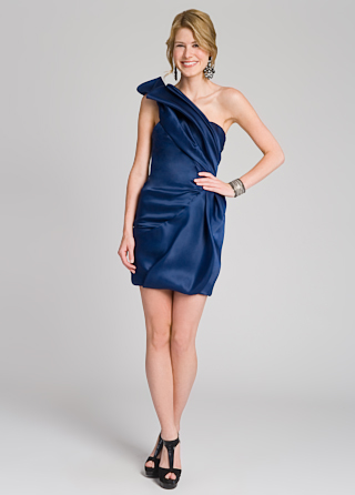 Christian Siriano Royal Rage Ruffle Dress