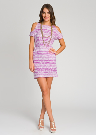 Shoshanna Purple Rain Dress